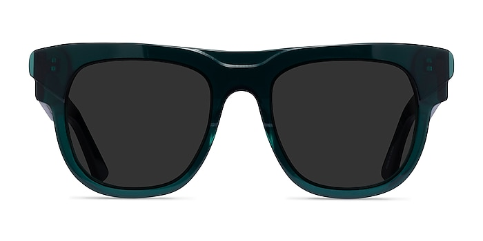Eon Teal Acetate Sunglass Frames from EyeBuyDirect