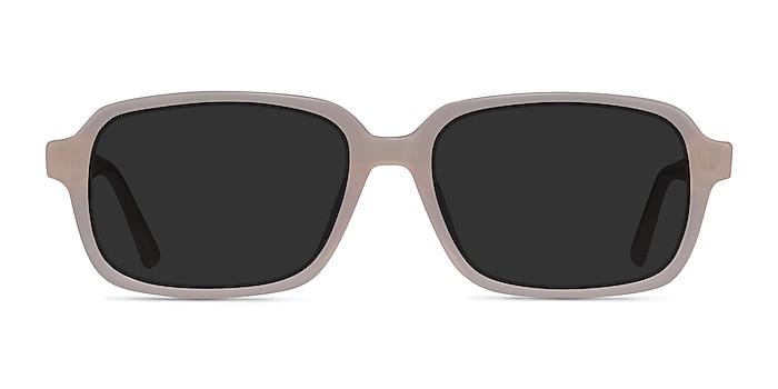 Opacity Beige Acetate Sunglass Frames from EyeBuyDirect