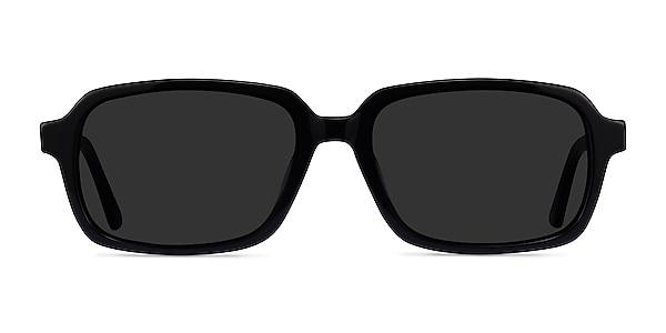 Opacity Noir Acétate Soleil de Lunette de vue
