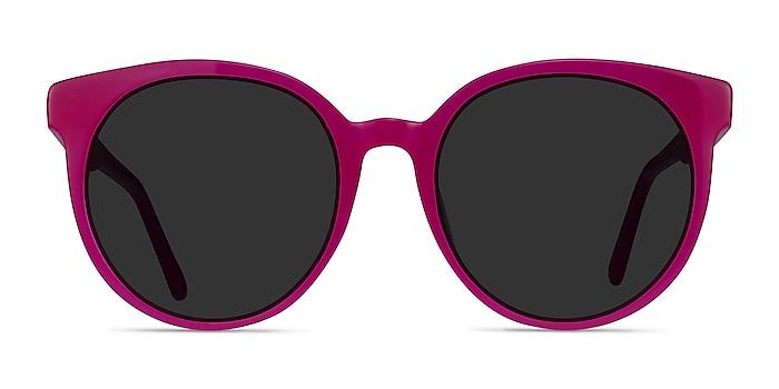 Lustre Rose Acétate Soleil de Lunette de vue d'EyeBuyDirect