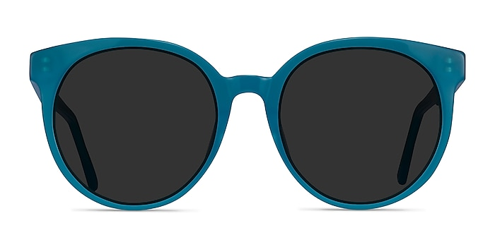 Lustre Aqua Acetate Sunglass Frames from EyeBuyDirect