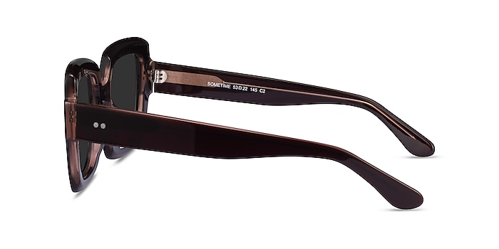 Sometime Brown Acetate Sunglass Frames from EyeBuyDirect