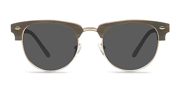The Hamptons Walnut & Gold Acetate-metal Sunglass Frames