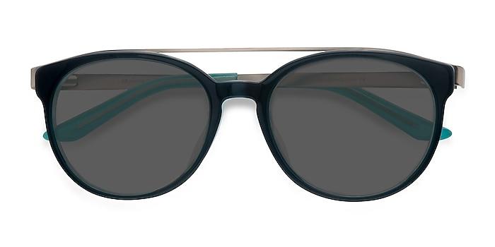 Navy silver Morning Breeze -  Acetate, Metal Sunglasses