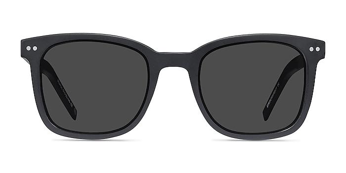 Peach Matte Black Acétate Soleil de Lunette de vue d'EyeBuyDirect
