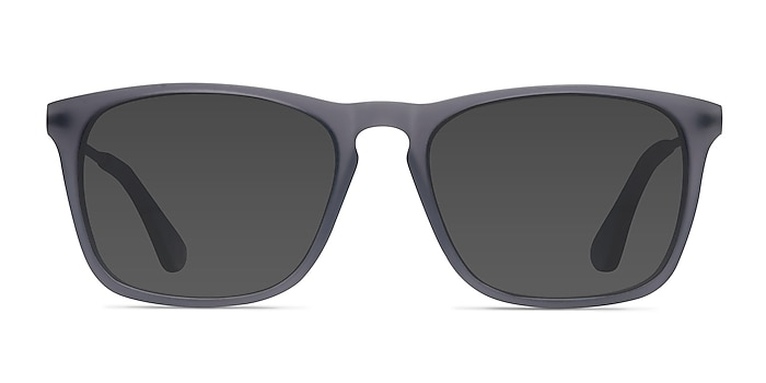 Bogota Matte Gray Acetate-metal Sunglass Frames from EyeBuyDirect