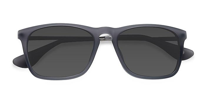 Matte Gray Bogota -  Acetate, Metal Sunglasses