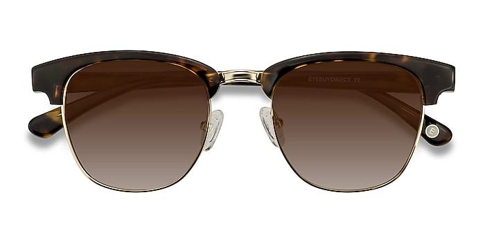 Tortoise Somebody New -  Vintage Acetate, Metal Sunglasses