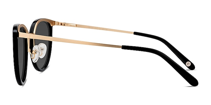 Crush Black Acetate-metal Sunglass Frames from EyeBuyDirect