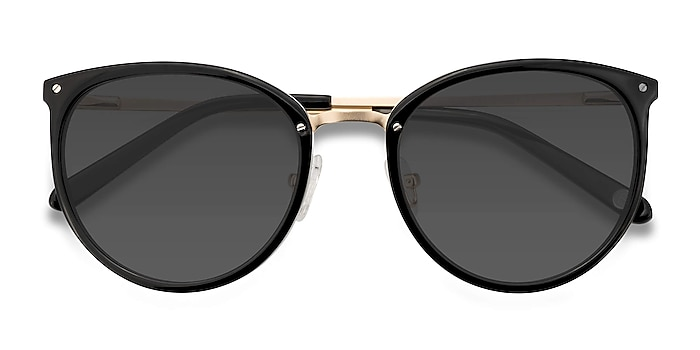 Black Crush -  Acetate, Metal Sunglasses