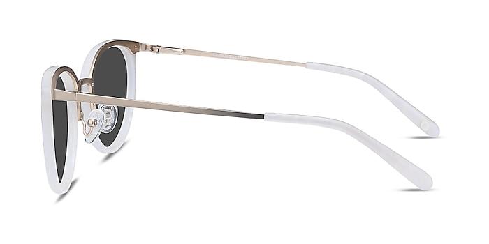 Crush Ivory Acetate-metal Sunglass Frames from EyeBuyDirect