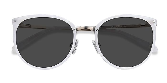 Ivory Crush -  Acetate, Metal Sunglasses