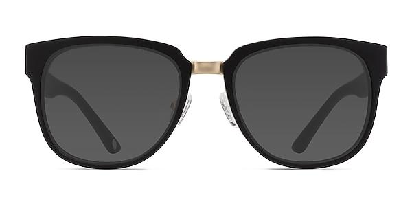 Haute Couture Matte Black Acetate-metal Sunglass Frames