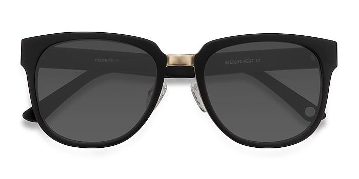 Matte Black Haute Couture -  Acetate, Metal Lunettes de soleil
