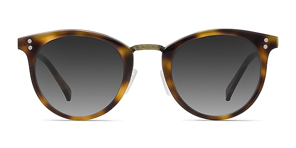 Sun Nostalgia Caramel Acetate-metal Sunglass Frames