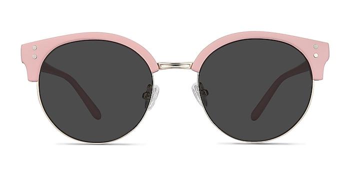 Samba Pink Plastic-metal Sunglass Frames from EyeBuyDirect