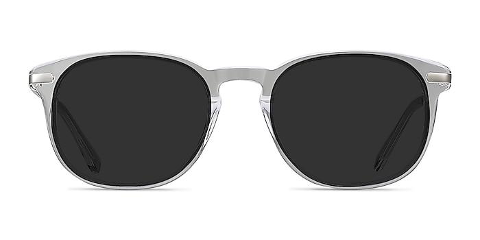 Council Transparence Acetate-metal Soleil de Lunette de vue d'EyeBuyDirect