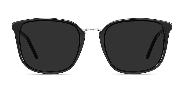 Yuma Black Acetate-metal Sunglass Frames