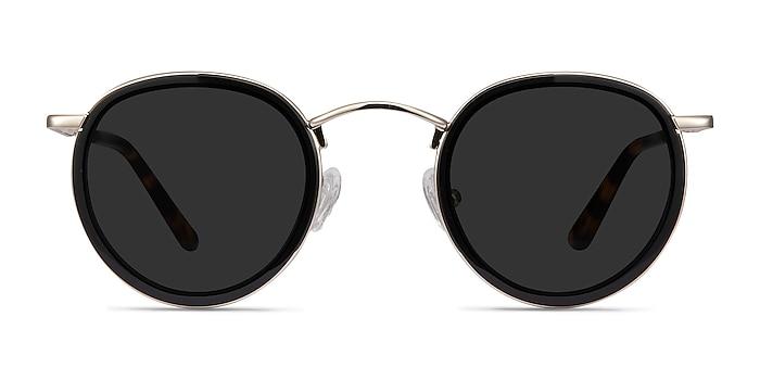 Rollin Black Acetate-metal Sunglass Frames from EyeBuyDirect