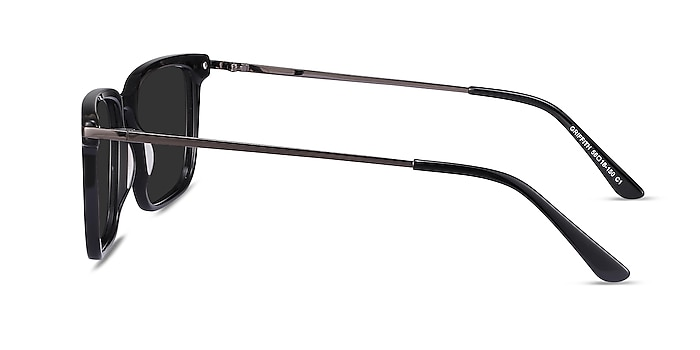 Griffith Black Acetate-metal Sunglass Frames from EyeBuyDirect