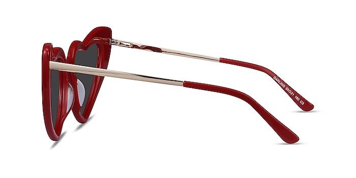 Darling Burgundy Acetate-metal Sunglass Frames from EyeBuyDirect