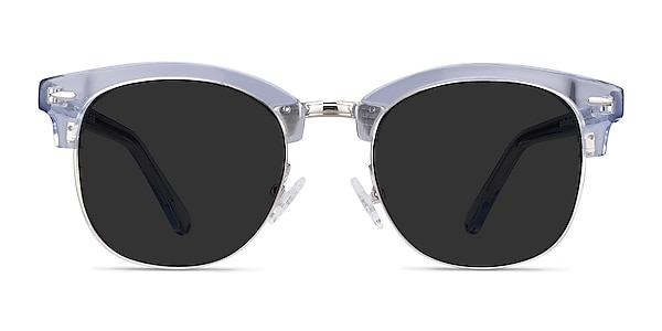 Strata Clear Blue Acetate-metal Sunglass Frames