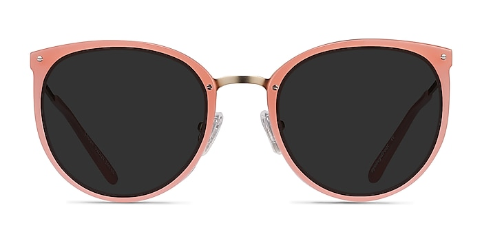 Crush Coral Acetate-metal Sunglass Frames from EyeBuyDirect