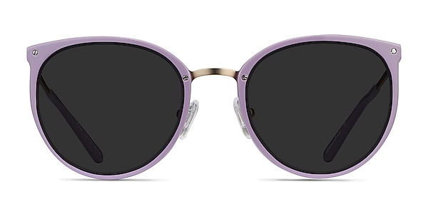 Crush Lavender Acetate-metal Sunglass Frames