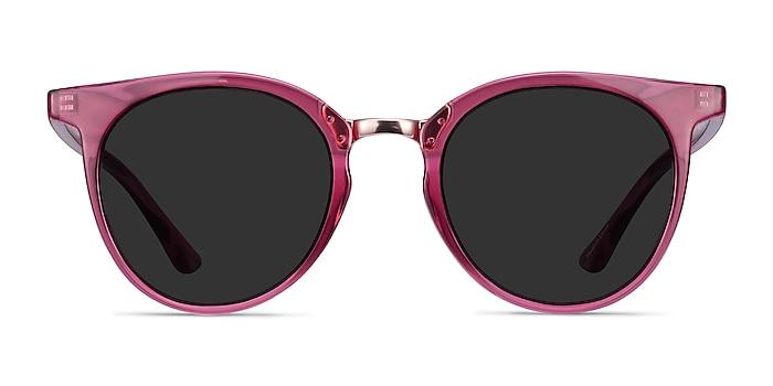 Lulu Raspberry Plastic-metal Soleil de Lunette de vue d'EyeBuyDirect