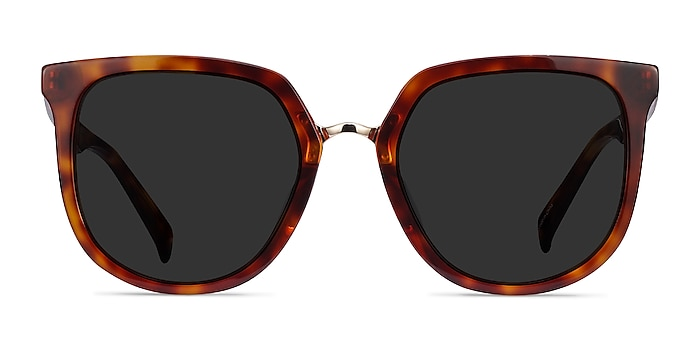 Shannon Tortoise Acetate Sunglass Frames from EyeBuyDirect