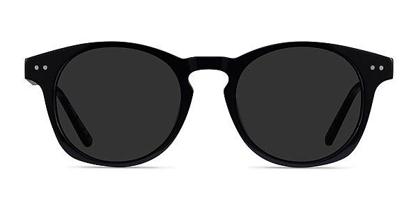 Pangea Black Acetate Sunglass Frames