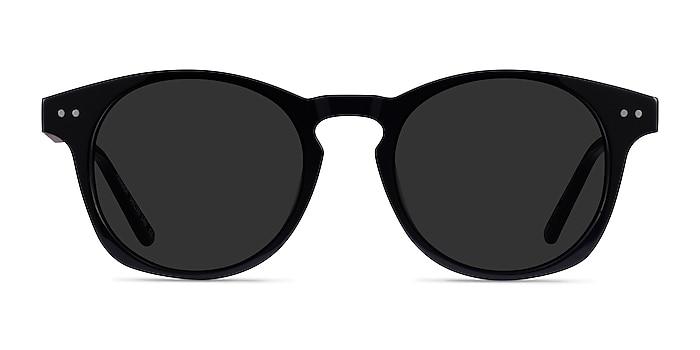 Pangea Black Acetate Sunglass Frames from EyeBuyDirect