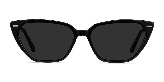 Santa Cruz Black Acetate Sunglass Frames from EyeBuyDirect
