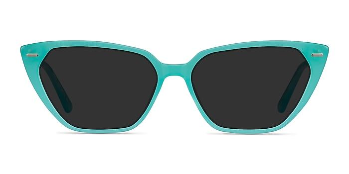 Santa Cruz Bleu Acétate Soleil de Lunette de vue d'EyeBuyDirect