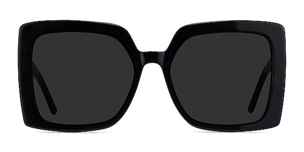 Hollywood Black Acetate Sunglass Frames