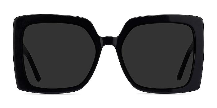 Hollywood Black Acetate Sunglass Frames from EyeBuyDirect