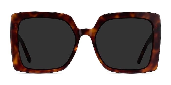Hollywood Tortoise Acetate Sunglass Frames from EyeBuyDirect