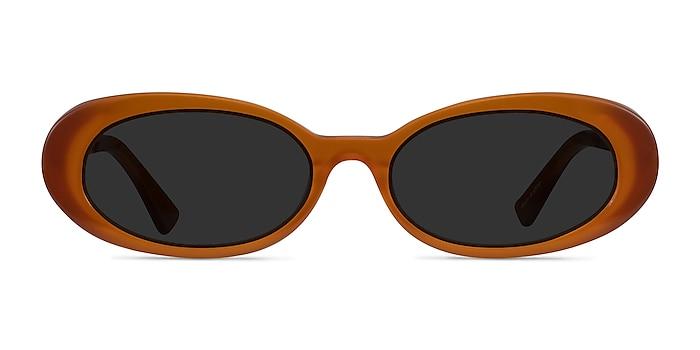 Winona Orange Acétate Soleil de Lunette de vue d'EyeBuyDirect