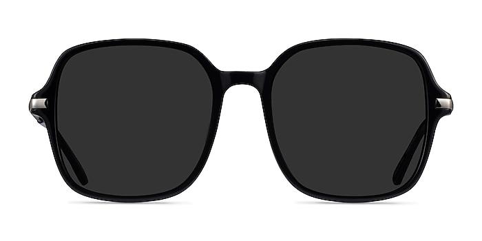 Salvador Black Acetate Sunglass Frames from EyeBuyDirect
