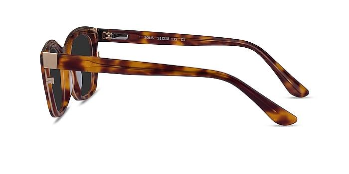 Solis Tortoise Gold Acetate Sunglass Frames from EyeBuyDirect