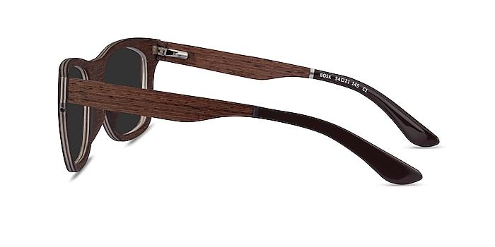 Bosk Wood Wood-texture Sunglass Frames from EyeBuyDirect