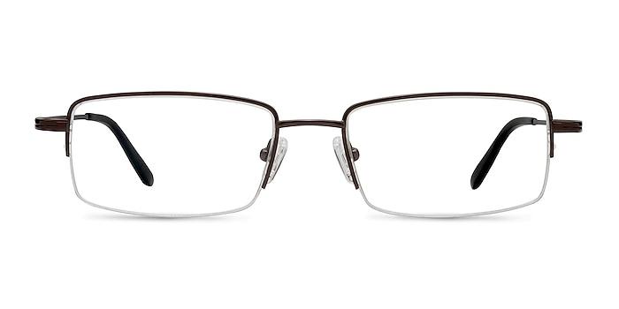 Graphic  Coffee  Titane Montures de lunettes de vue d'EyeBuyDirect