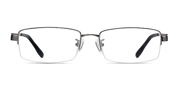 Emerge Gunmetal Titanium Eyeglass Frames