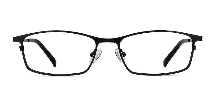 Present Noir Titane Montures de lunettes de vue d'EyeBuyDirect