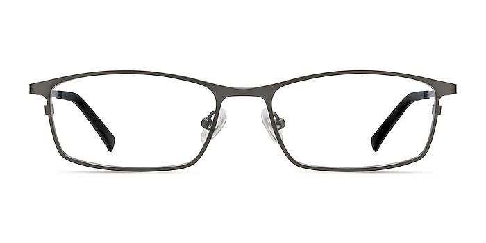 Present Gunmetal  Titanium Eyeglass Frames from EyeBuyDirect