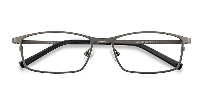 Gunmetal  Present -  Lightweight Titanium Eyeglasses