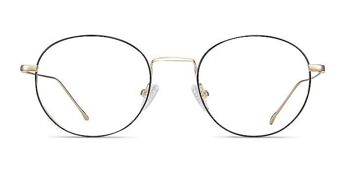 Aegis Black Titanium Eyeglass Frames from EyeBuyDirect