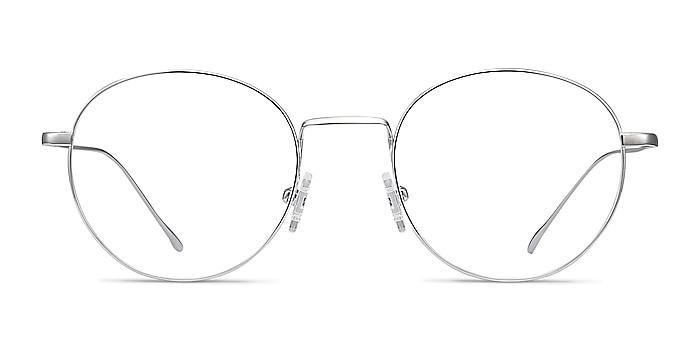 Aegis Silver Titanium Eyeglass Frames from EyeBuyDirect