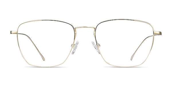 Future Golden Titanium Eyeglass Frames