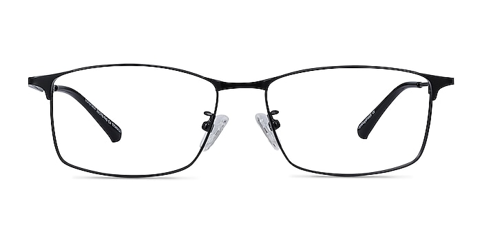 Constant Black Titanium Eyeglass Frames from EyeBuyDirect